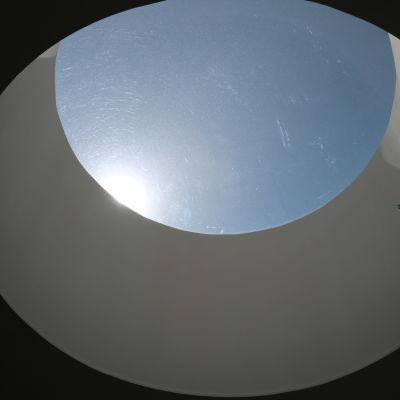 Takfönster i den nya delen i Mosebacke skola.