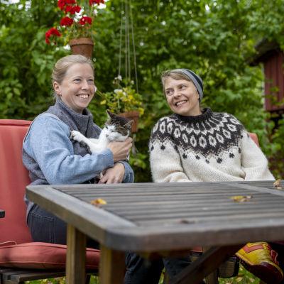 Anna Alm och Virve Savoila