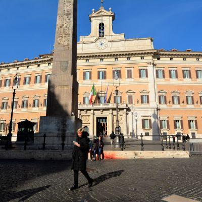 Parlamentet Montecitorio Roma