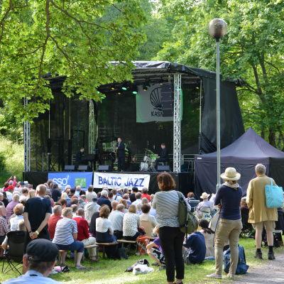 Konsert under Baltic Jazz 2017.
