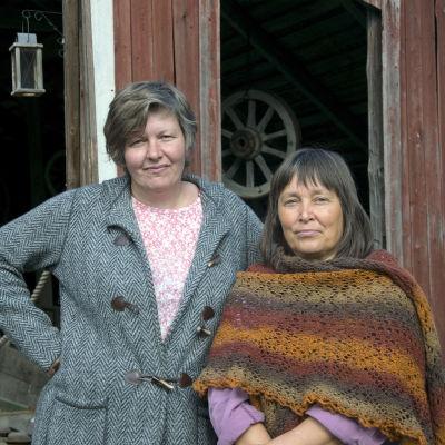 Bild på Anita Storm och Nina Sjöberg.