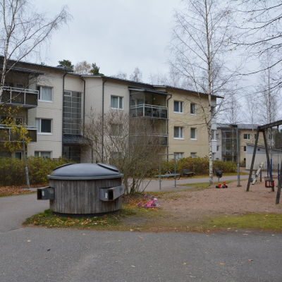 Husbolaget Puhurinlahti i Hirvensalo i Åbo.