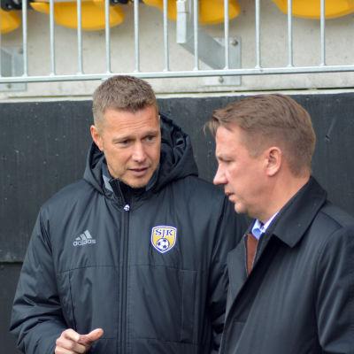 Christoffer Kloo i samtal med Raimo Sarajärvi.