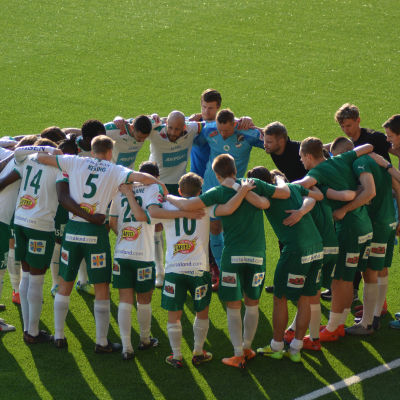 IFK Mariehamn samlade för match 2019.