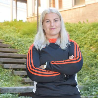 Porträttbild av Josefine Lundström.