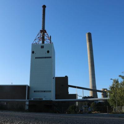Kolkraftverk i Kristinestad.
