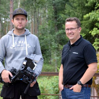 Personporträtt på Jonny Forsman och Johan Ljungqvist