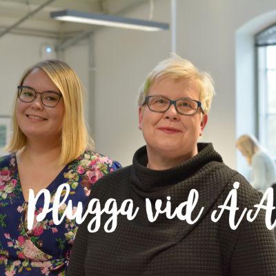 Rebecka Mattbäck och Mia Österlund