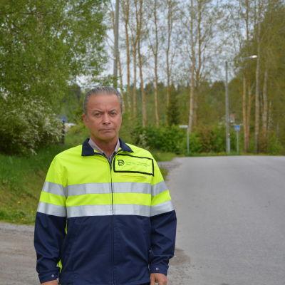 Direktör Anders Östergård från NTM-centralen.