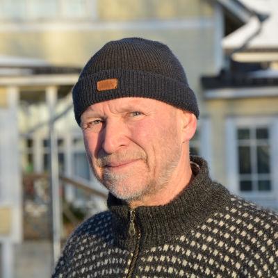 Atte Ljungqvist fotograferad vid Ankarparken.