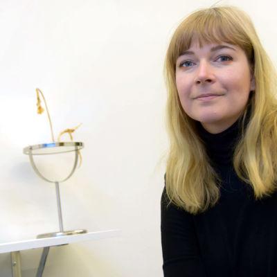 Konstnären Camilla Edström Ödemark