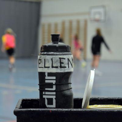 Ellen Norrgranns vattenflaska, november 2017.
