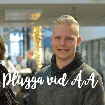 Linnéa Henriksson och Mats Ekebom.
