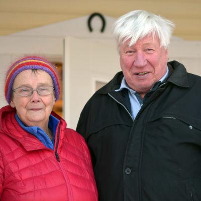 Porträttbild på Lena Selén och Berndt Gottberg.