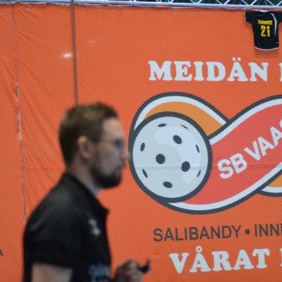 Jani Lipsanen är tränare för SB Vaasa i innebandy.