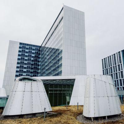 Mejlans tornsjukhus i Helsingfors.