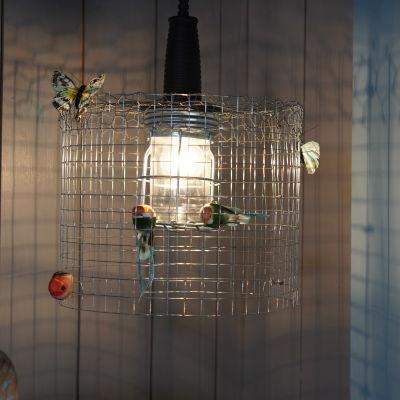 En lampa.