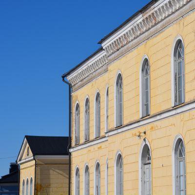 Bild på Borgå gymnasium.