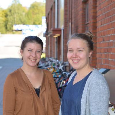 Johanna Karvonen och Mia Lindeman