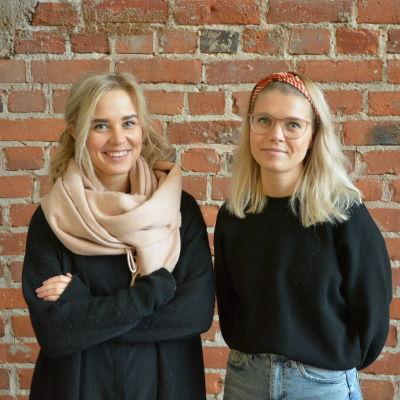 Linnea Törnqvist och Ida-Sofie Asplund.