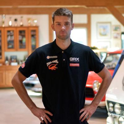 Rallycrossföraren Niclas Grönholm.