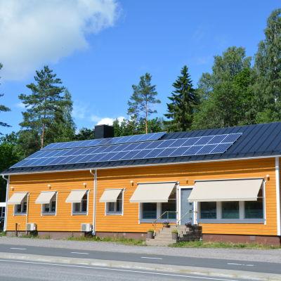 Veterinärstationen Linnunmäki i Kullo i Borgå