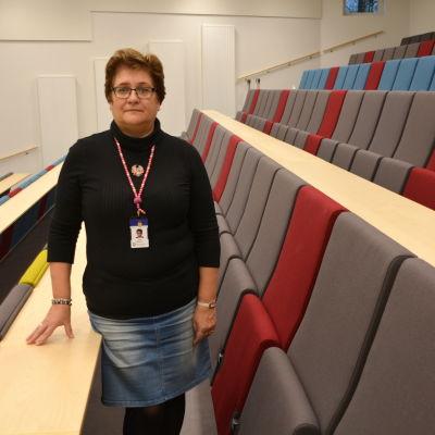 Ledande ekonom Viola Malmberg.