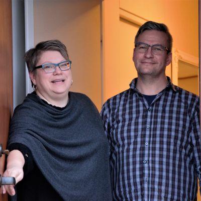 Ann-Caroline Björkholm och Andreas Björkholm