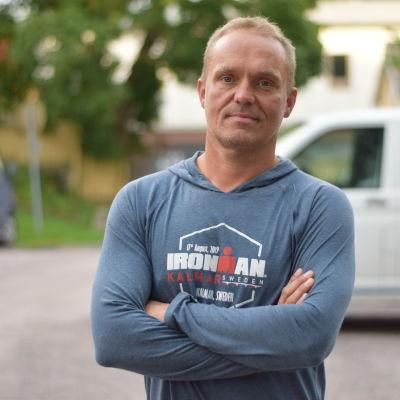 Porträttbild på Tommy Fagerholm.