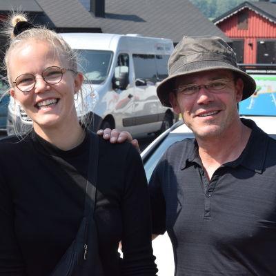 Porträttbild på Greta och Nicke Lignell,