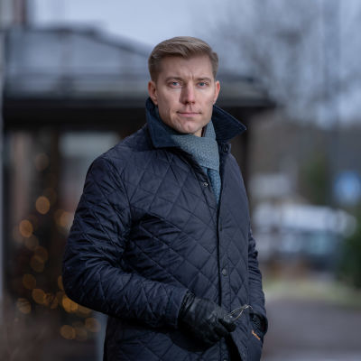 Myrskylän kunnanjohtaja Sam Vuorinen, Myrskylä, 27.11.2020.