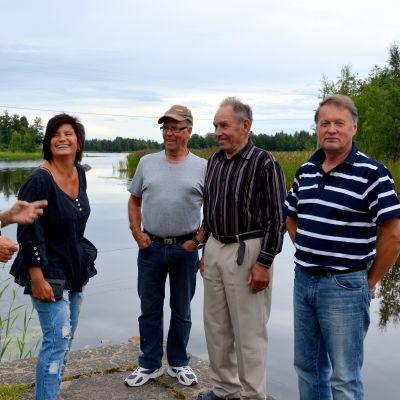 Ove Nysund, Annika Frants, Ingmar Rönnlund, Evald Rönnlund och Kurt Finne