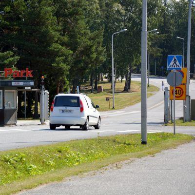 Kopparporten vid Strömberg Park