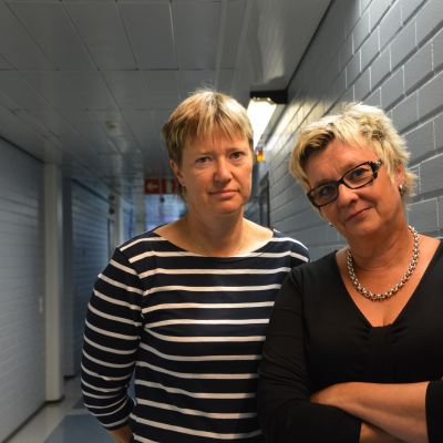 Elisabeth Wiklund och Lisbeth Bäck.
