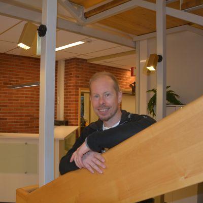 Jani Roman, ordförande för Raseborgs företagare.