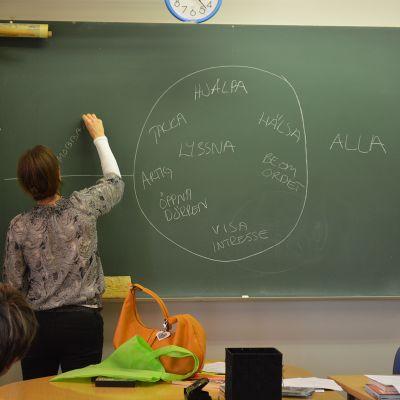 I klassen