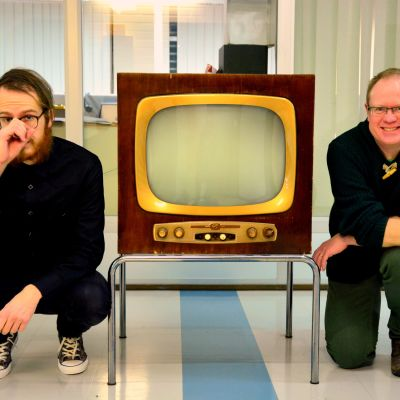 Petter Sandelin och Peter Lüttge