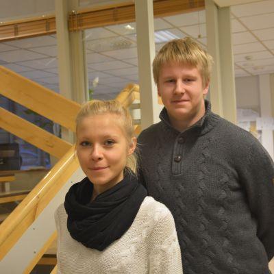 Sofia Westerholm och Eddie Lindbom