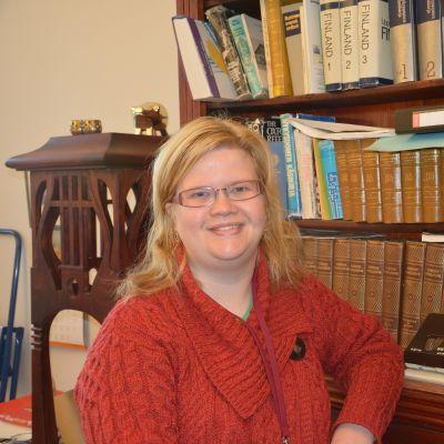 Laura Lotta Andersson är t.f. museichef i Hangö.