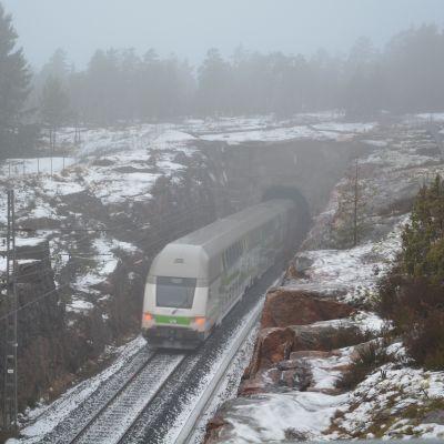 Tåg i Sjundeå