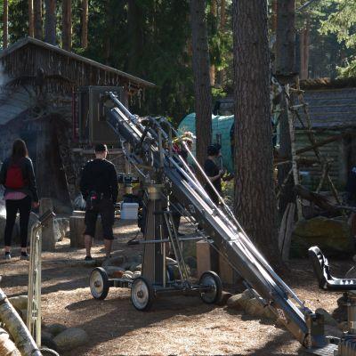 Viidettä Rölli-elokuvaa kuvataan Alahärmässä Rölli-kylässä.