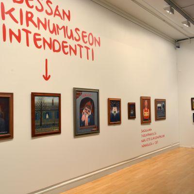 Tampereen Taidemuseon naivismi näyttely