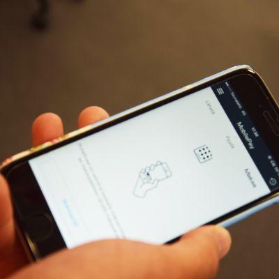 Applikationen MobilePay.