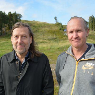 Jan-Erik Andersson och Marko Ekman