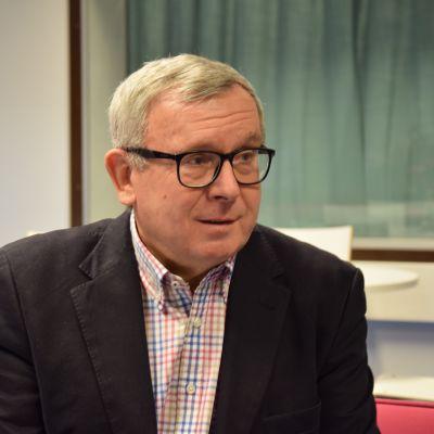 Jan-Peter Paul som är docent i internationellt politik