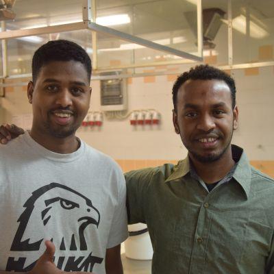 Abdiaziiz Mohamed Mustafa och Busuri Zakaria