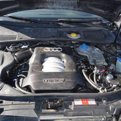I motorrummet syns det inte speciellt mycket av gasdriften