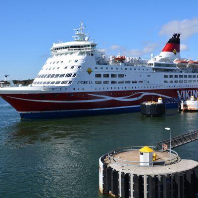 Viking Lines kryssningsfartyg M/S Amorella.