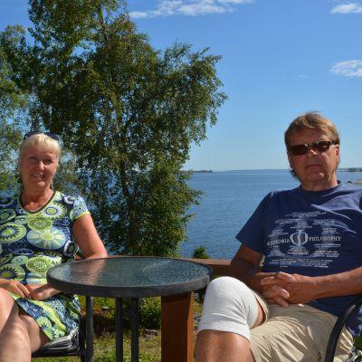 Pia Nyman och Kaj Palenius
