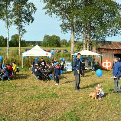 Tomtfestival i Terjärv.